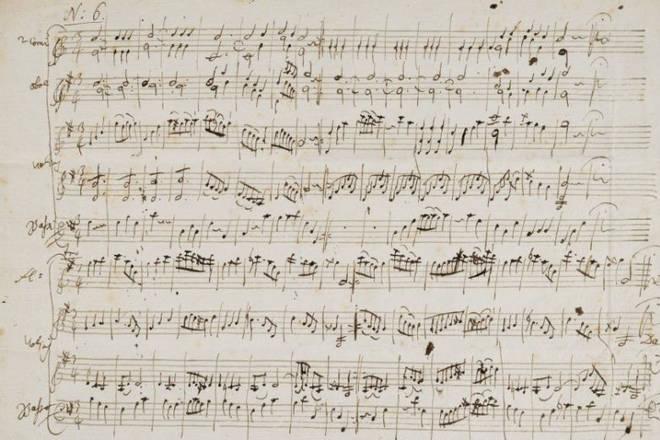 MozartManuscript
